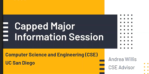 Capped Major Information Session
