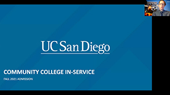 California Community College (CCC) In-Service Training for Counselors